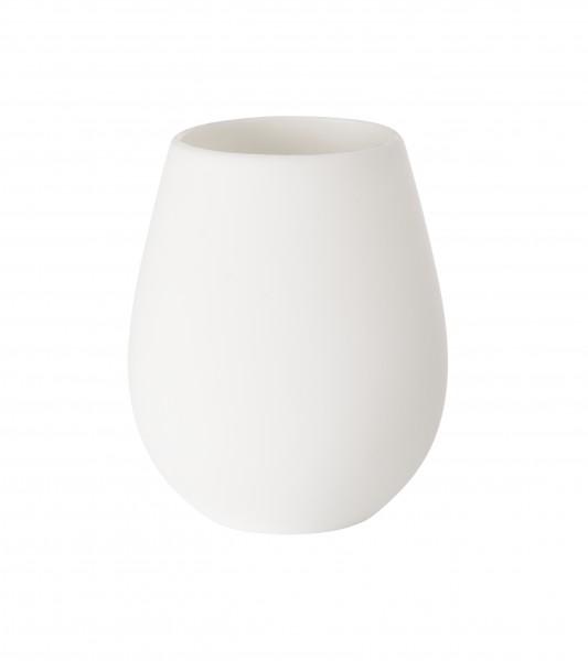 Kerzenhalter Tropical aus Silikon, weiss