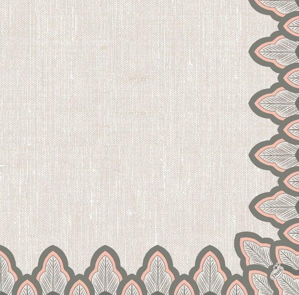 Dunilin Servietten, Grau, 40 x 40 cm