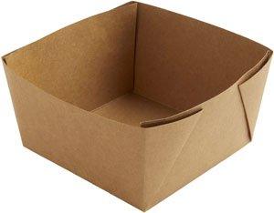 "Karton/PE Box, Braun, 12 dl, ""Viking Block Box"""