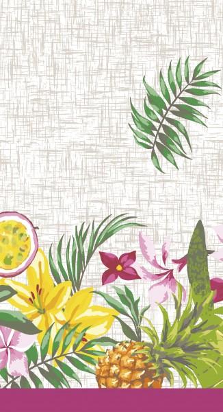Tischdecke Papier, weiss, rosa, 138x220cm | tischdeko-shop.ch