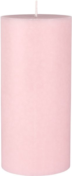 Stumpenkerze, rosa, 15 x ø 7 cm, ca. 45 Std.