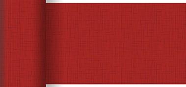 Tischläufer Papier, rot, 0.15x20m