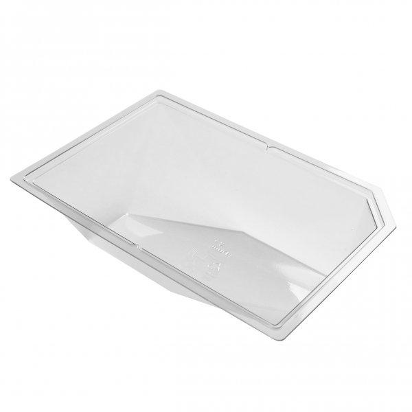 """rPET Schale, transparent, 5 dl, """"Polardeli"""""""