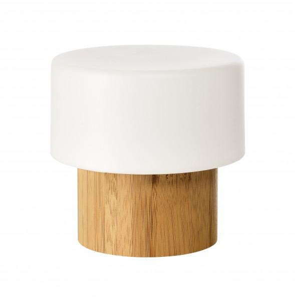 LED-Kerzenhalter, Good Concept, Bambus, 110 x 110 mm