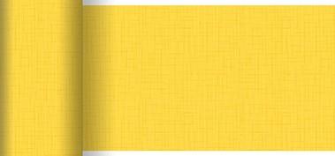 Tischläufer Papier, gelb, 0.15x20m