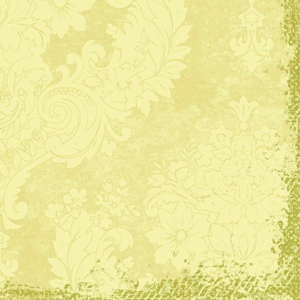 Papierservietten Klassik, creme, 40x40cm