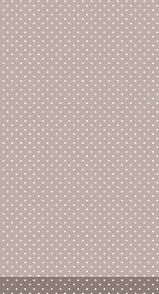 Tischdecke Papier, Greige, 138 x 220 cm