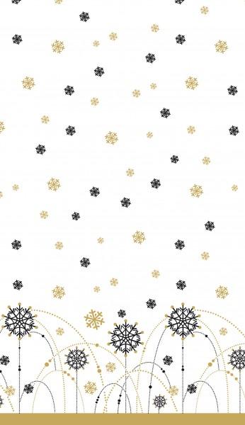 Tischdecke Dunicel, Snow Necklace White, 138x220cm