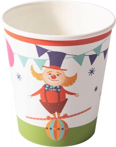 Pappbecher, carnival fun, 20 cl