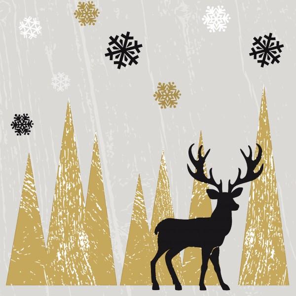 Papierservietten, Oh Deer, 33x33cm