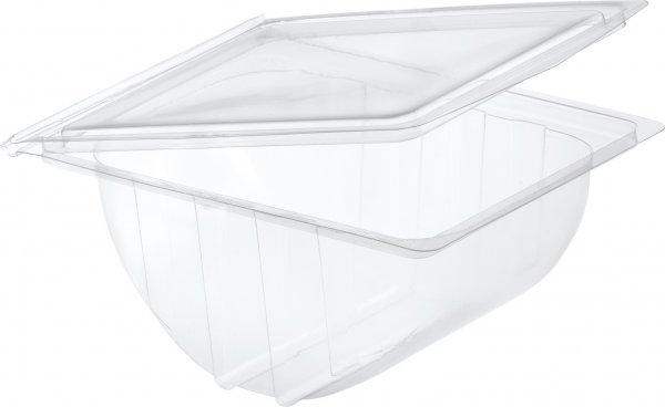 "rPET Bagelbox, transparent, ""ecoecho"""
