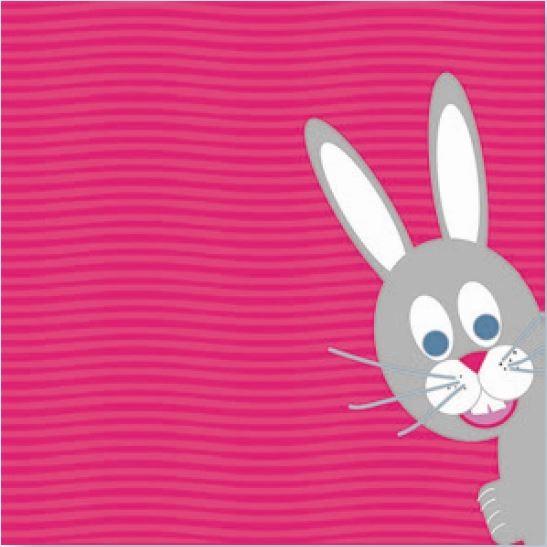 Papierservietten, rosa, grau, 33x33cm