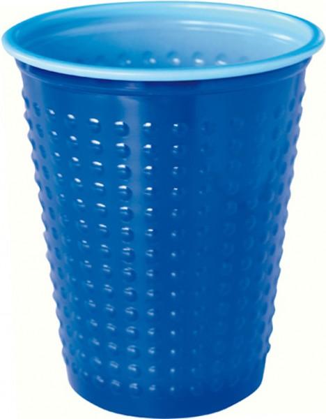 Plastikbecher Colorix, blau, 20cl