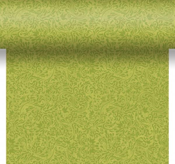 Tischset, Tischläufer, Tête-à-Tête Papier, grün, 40x480cm
