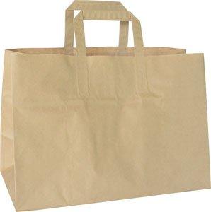 """Take-Away Tasche, Papier, Braun, """"BioPak"""""""