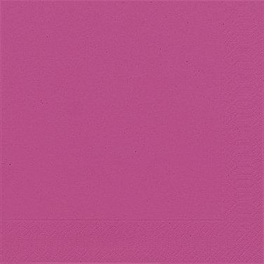 Papierservietten, pink, 40x40cm, 60 Stk.
