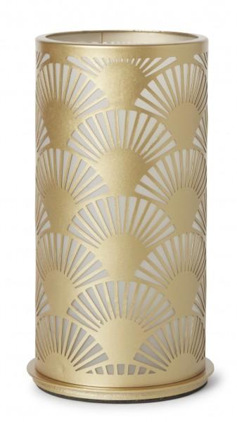 Kerzenhalter Peacock, Metall, gold, 140 x 75 mm