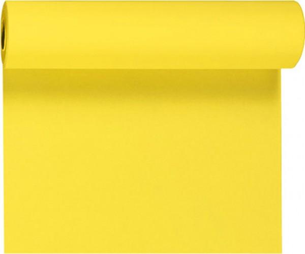 Tischset, Tischläufer, Tête-à-Tête Papier, gelb, einfarbig, 40x480cm