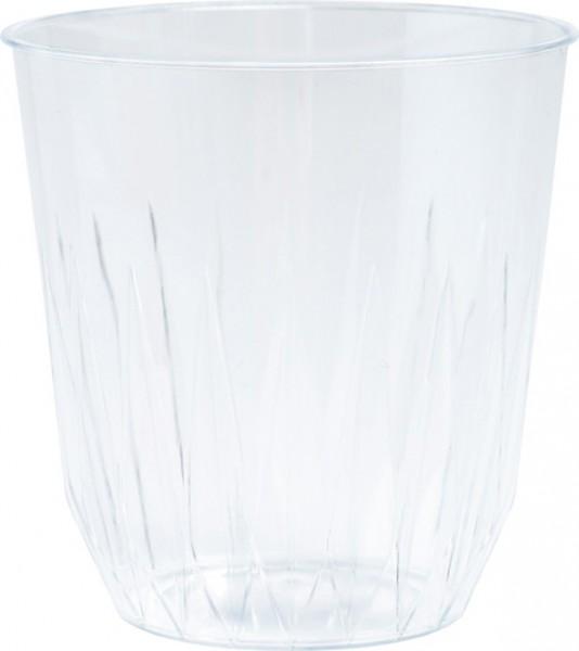 Plastikbecher, transparent, 25cl