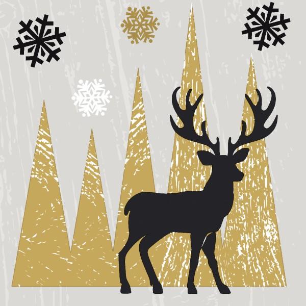 Papierservietten, Oh Deer, 24x24cm