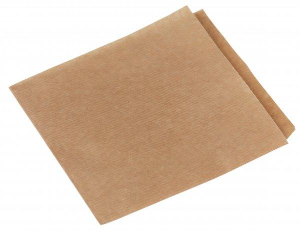 Papier Snack-Tüte, beschichtet, Braun