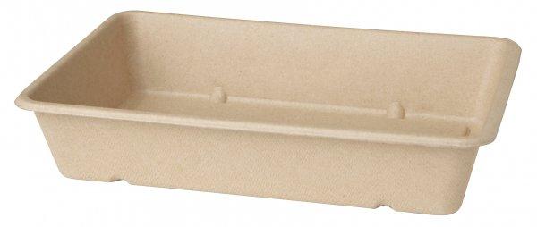 "Bagasse Box, Braun, 12 dl, ""ecoecho"""