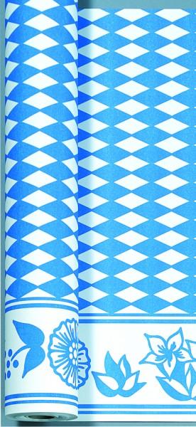 Tischtuchrolle, Blau, Weiss, 0.90 x 40 m