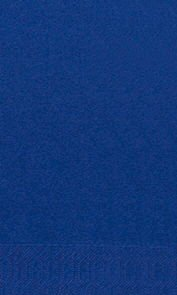 Papierservietten, dunkelblau, einfarbig, 33x33cm, 1/8 Falz, 25 Stk.