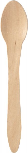 Bio Löffel, Holz, 18 cm