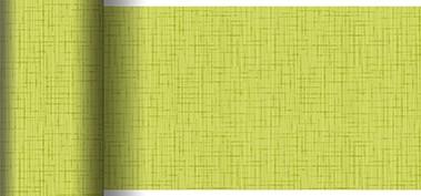 Tischläufer Papier, hellgrün, 0.15x20m