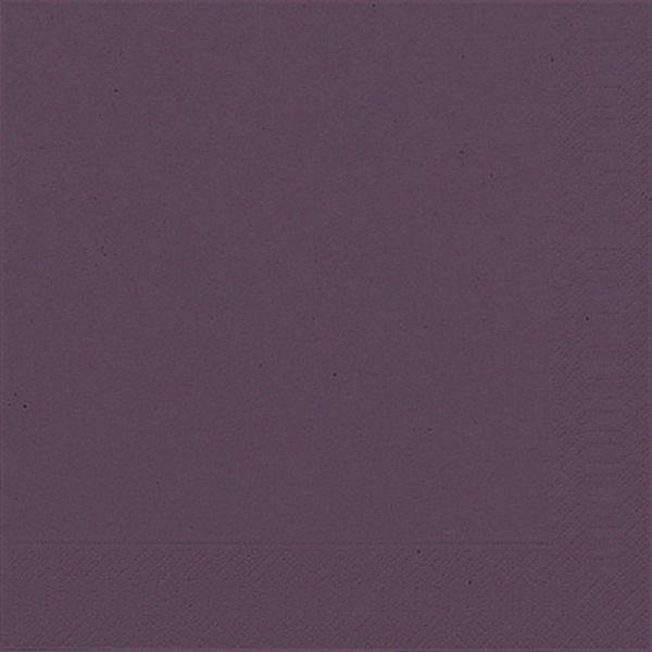 Papierservietten, violett, 40 x 40cm, 50 Stk.