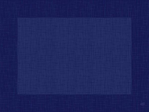 Tischset Papier, blau, 30x40cm