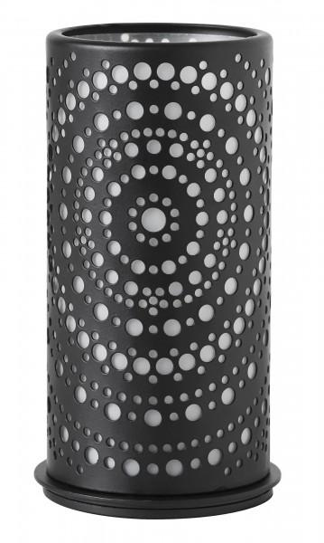 Kerzenhalter Billy, metall, schwarz, 140 x 75mm