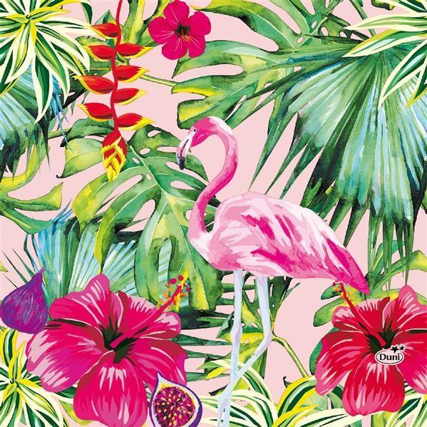 Papierservietten, Aloha Floral, 33x33cm,
