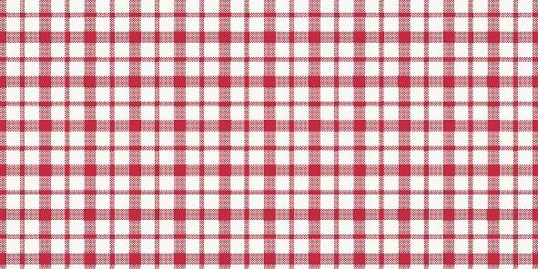 Mitteldecke Papier, Rot, Weiss, 84 x 84 cm