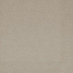Papierservietten, greige, einfarbig, 24x24cm