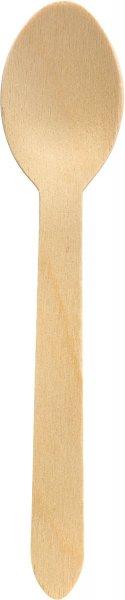 Bio Löffel, Holz, 16 cm
