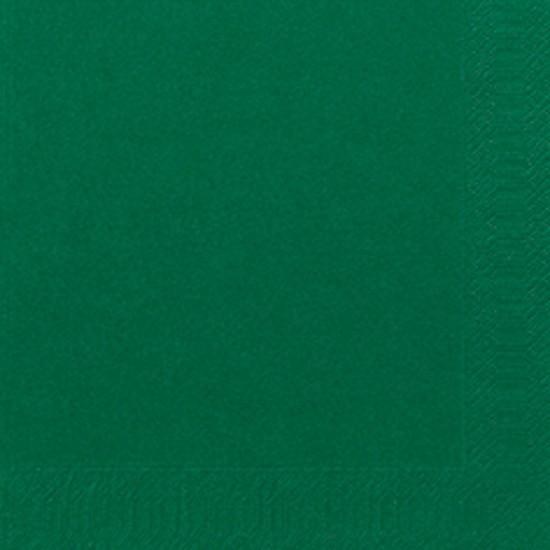 Papierservietten, grün, dunkelgrün, 33 x 33 cm, 50 Stk.