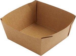 """Karton/PE Box, Braun, 5,1 dl, """"Viking Cube Low"""""""