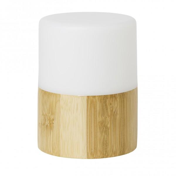 LED-Kerzenhalter, Good Concept, Bambus, 105 x 75 mm