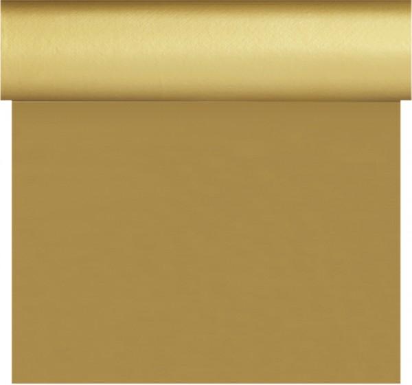 Tischset, Tischläufer, Tête-à-Tête Papier, Gold, 40 x 480 cm