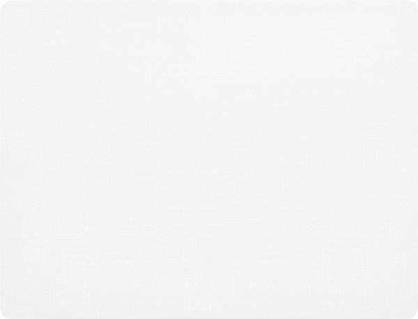 Silikon Tischset, Weiss, 30 x 45 cm