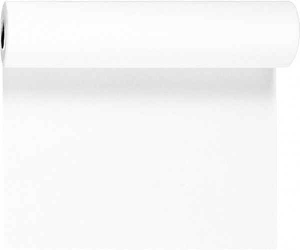 Tischset, Tischläufer, Tête-à-Tête, weiss, einfarbig, 40x480cm