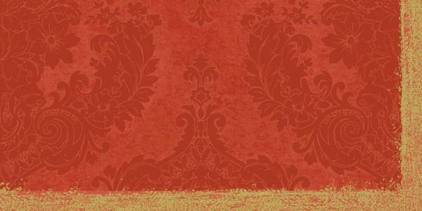 Mitteldecke Papier, orange, 84x84cm