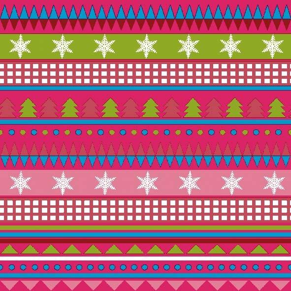 Papierservietten, pink, 33x33cm