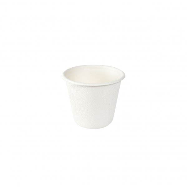 """Bagasse Dressingbecher, Weiss, 0,85 dl, """"Eco"""""""