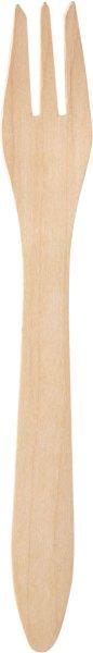 Bio Gabeln, Holz, 18 cm