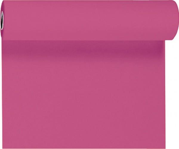 Tischset, Tischläufer, Tête-à-Tête einfarbig, pink, 40x480 cm