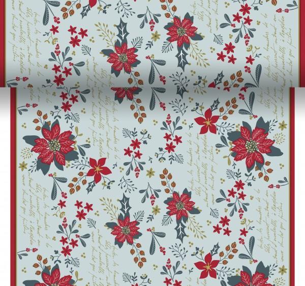 Tischset, Tischläufer, Tête-à-Tête Papier, Christmas Flower, 40x480cm