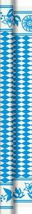 Tischtuchrolle, Blau, Weiss, 1.18 x 10 m